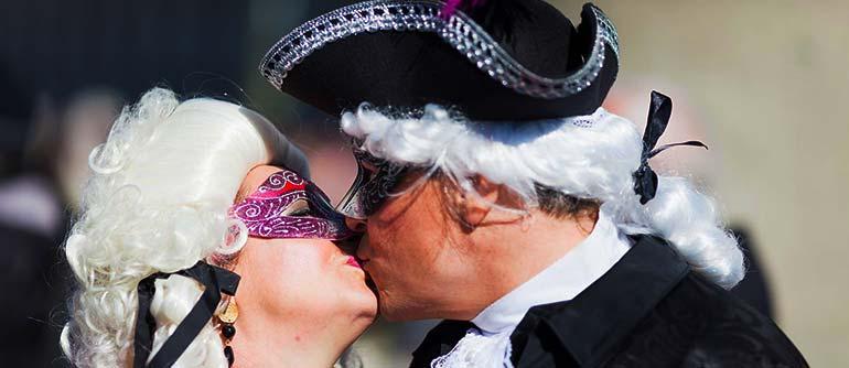 Amoureux et romantique à Venise