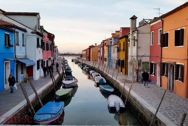 Le charme de Burano et ses couleurs
