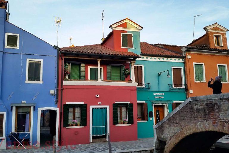 Ile de BUrano de Venise