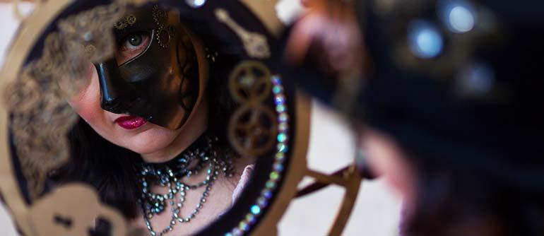 miroir au carnaval
