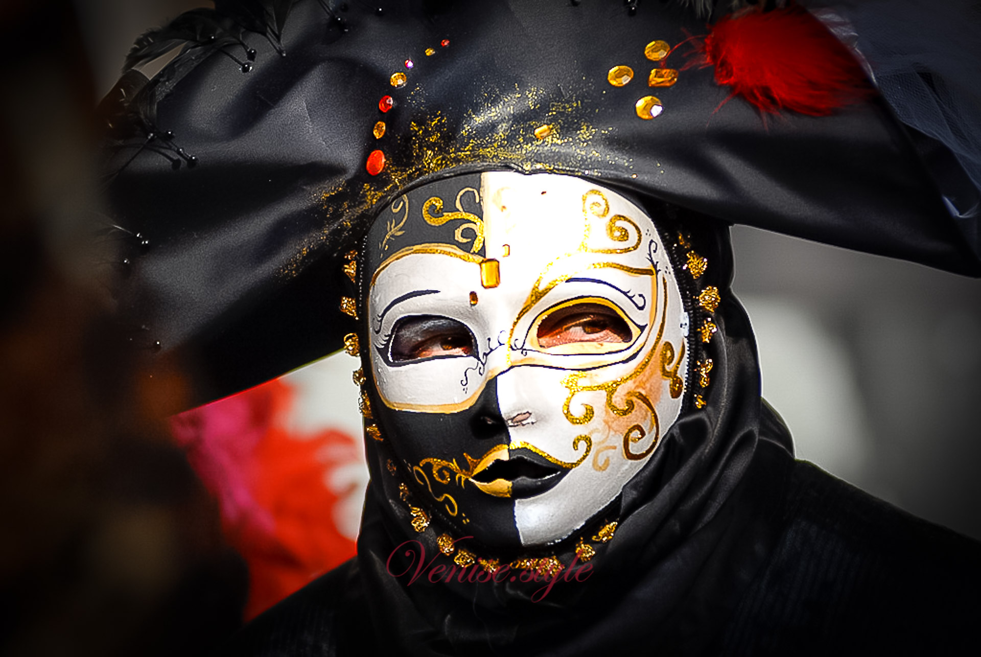 Masque de Venise - Venise blog d'Oriane et Angel