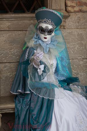 costume et masque de Venise